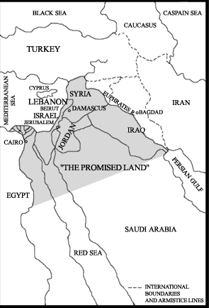 Yinon plan map